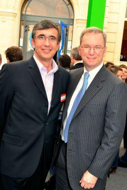 Eric Schnmidt et Jm Tassetto ©gpetipas