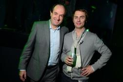 P Sabrié DG Heineken et Alexis Jaillon